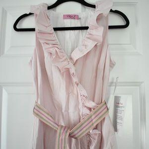 Light Pink Eliza J Wrap Dress